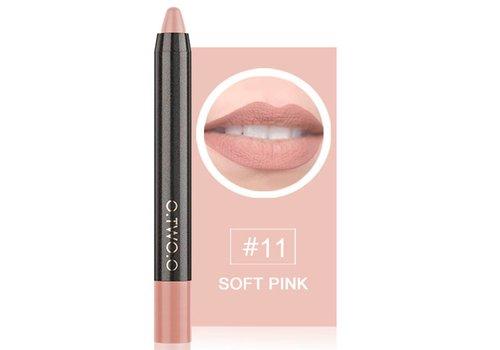 Crayon Matte Lipstick - Color 11 Soft Pink