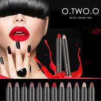 thumb-Crayon Matte Lipstick - Color 10 Brunette-3
