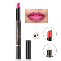 thumb-Matte Lipstick Pen & Lip Brush 2 in 1 - Color 0.6 Pinky Violet-1
