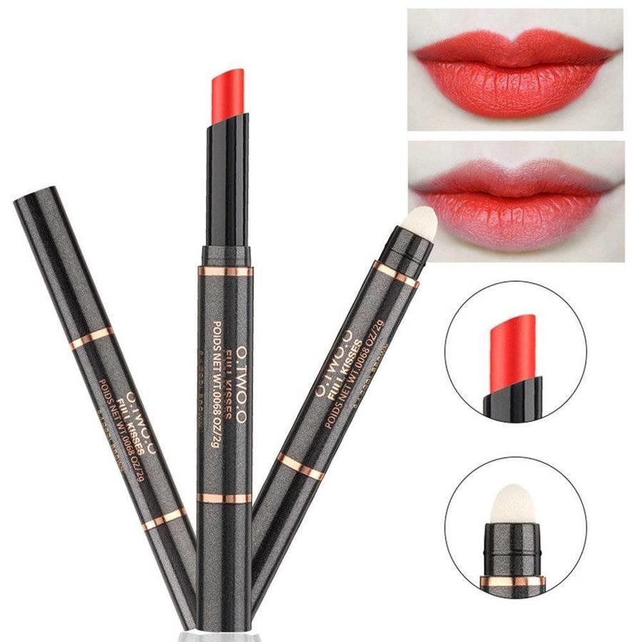 Matte Lipstick Pen & Lip Brush 2 in 1 - Color 0.9 Fusion Orange-3