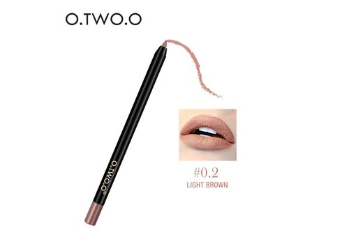 Suede Matte Contourpotlood Lipliner - 0.2 Light Brown