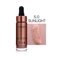 thumb-Highlighter Met Shimmer Glitter Effect - Color 5.0 Sunlight-1