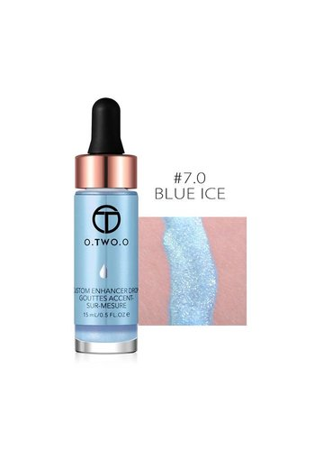 Highlighter Met Shimmer Glitter Effect - Color 7.0 Blue Ice