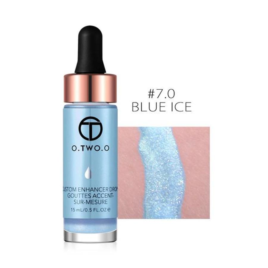 Highlighter Met Shimmer Glitter Effect - Color 7.0 Blue Ice-1