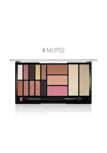 Palette Oogschaduw Make-Up Set - Color 02 Natural