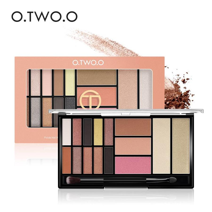 Palette Oogschaduw Make-Up Set - Color 03 Smoke-5