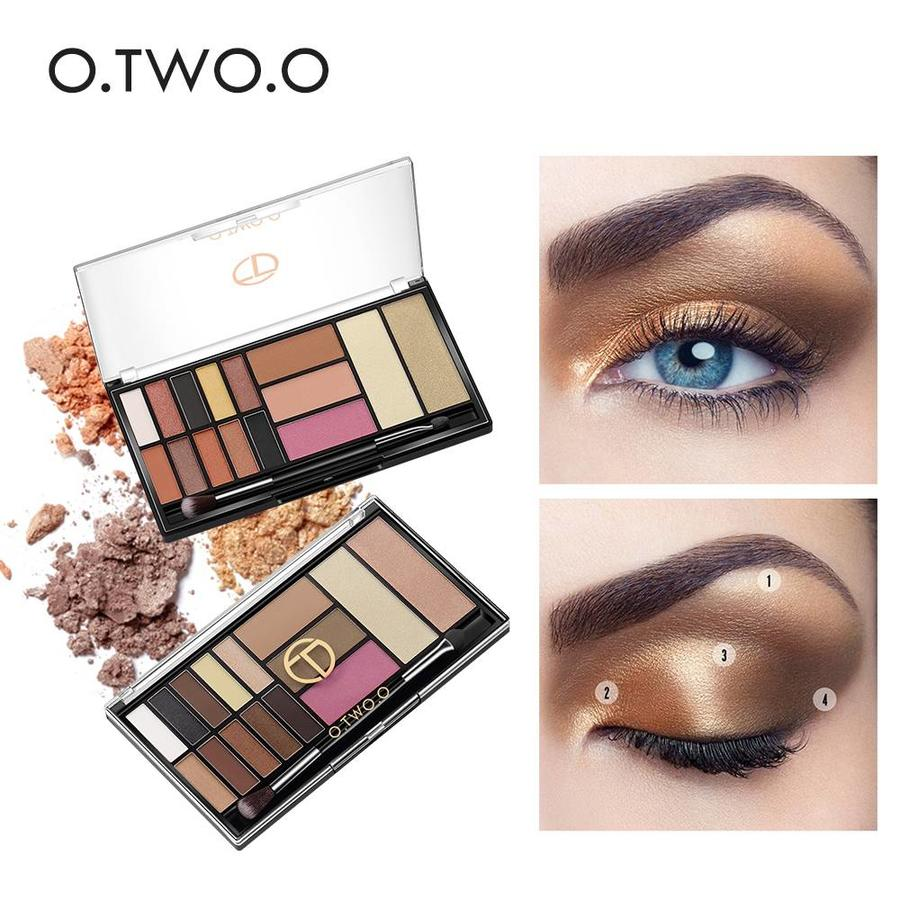 Palette Oogschaduw Make-Up Set - Color 03 Smoke-6