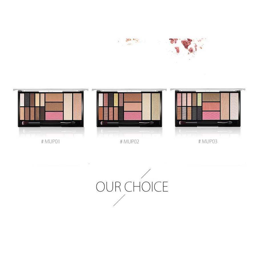 Palette Oogschaduw Make-Up Set - Color 03 Smoke-2