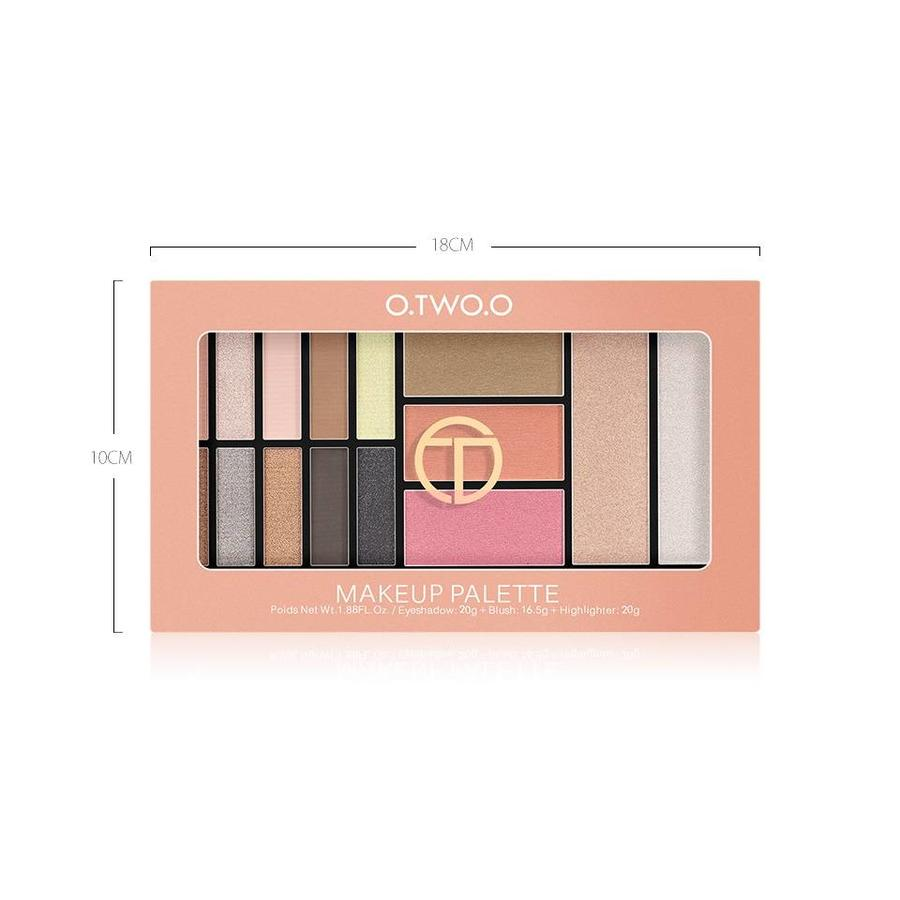 Palette Oogschaduw Make-Up Set - Color 03 Smoke-4