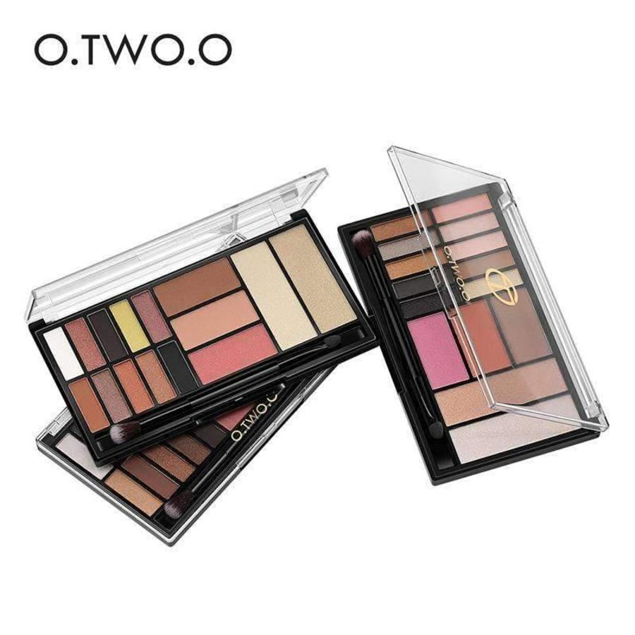 Palette Oogschaduw Make-Up Set - Color 03 Smoke-7