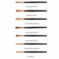thumb-Make-up Brush Set Professional - 20 stuks - Black Gold-3