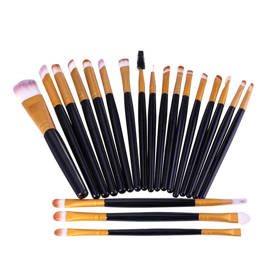 Make-up Brush Set Professional - 20 stuks - Black Gold-8