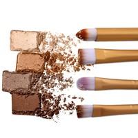 thumb-Make-up Brush Set Professional - 20 stuks - White with Black-5