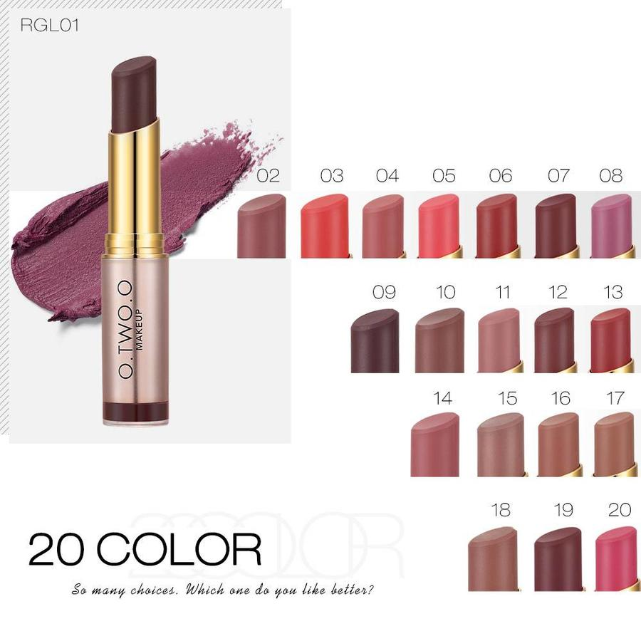 Matte Lipstick Long Lasting - Color RGL02-5