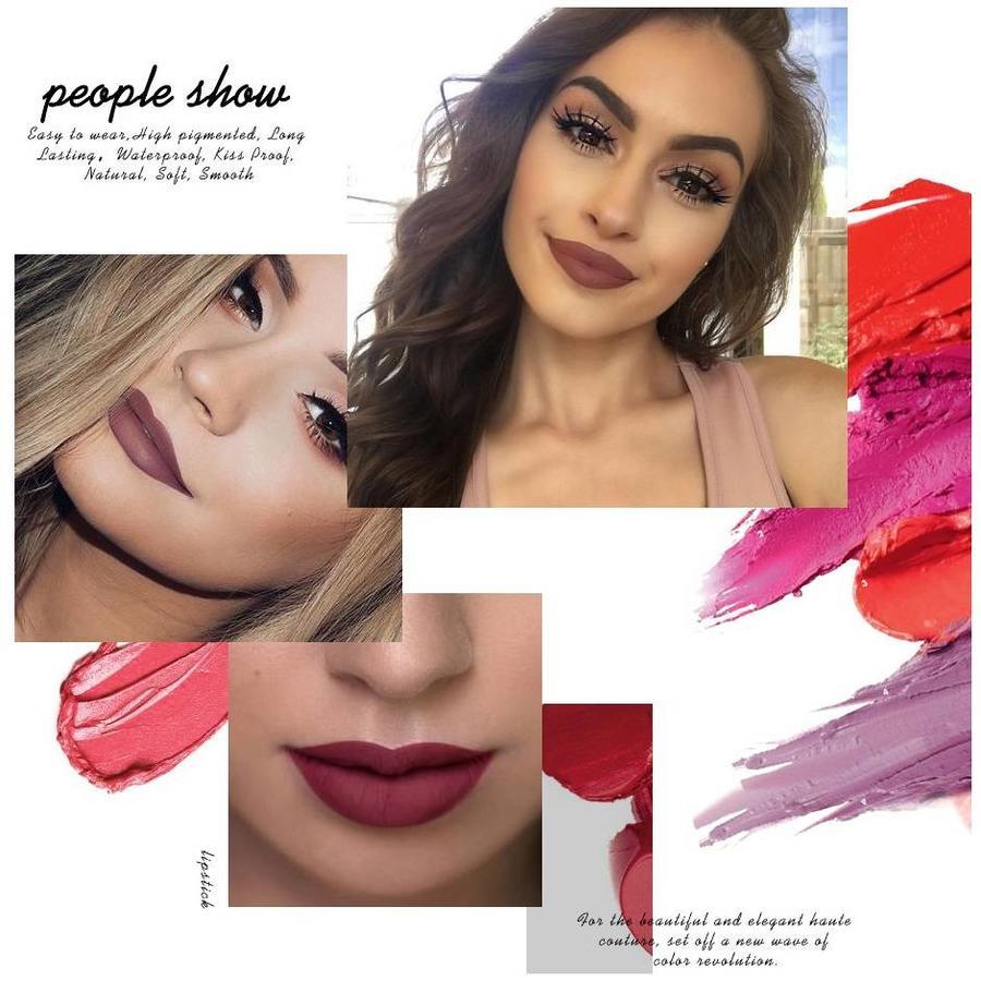 Matte Lipstick Long Lasting - Color RGL08-6