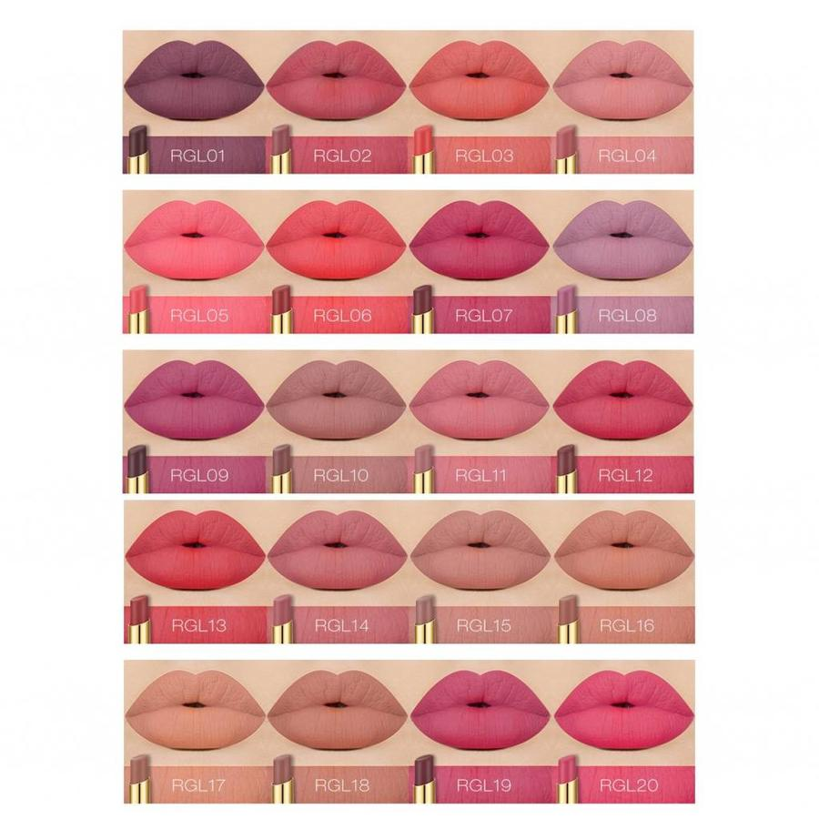 Matte Lipstick Long Lasting - Color RGL08-4