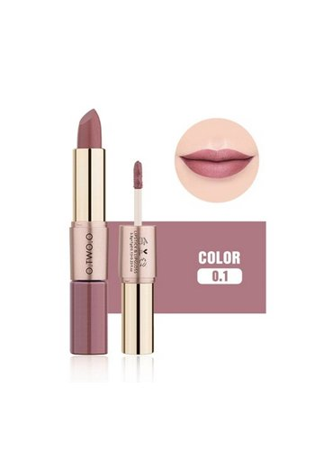 Matte Lipstick Pen & Liquid Suede Lipstick 2 in 1 - Color 0.1 Lolita