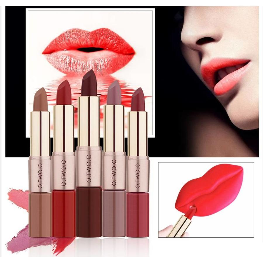 Matte Lipstick Pen & Liquid Suede Lipstick 2 in 1 - Color 0.1 Lolita-5