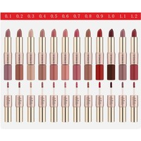 thumb-Matte Lipstick Pen & Liquid Suede Lipstick 2 in 1 - Color 0.2 Lolita II-2