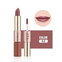 thumb-Matte Lipstick Pen & Liquid Suede Lipstick 2 in 1 - Color 0.2 Lolita II-1