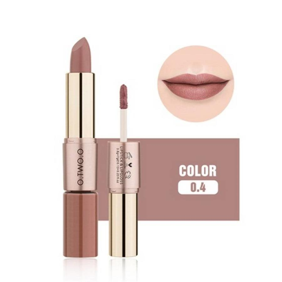 Matte Lipstick Pen & Liquid Suede Lipstick 2 in 1 - Color 0.4 Bow N Arrow-1