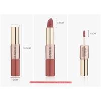 thumb-Matte Lipstick Pen & Liquid Suede Lipstick 2 in 1 - Color 0.5 Double Dare-6