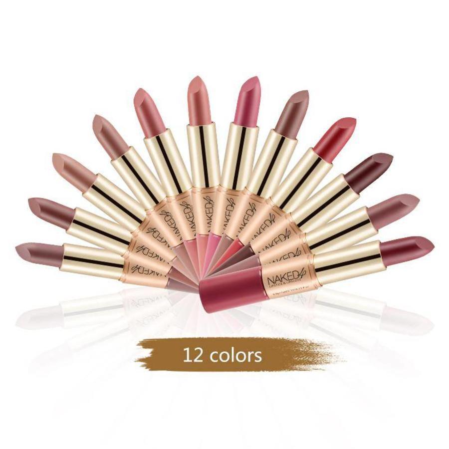 Matte Lipstick Pen & Liquid Suede Lipstick 2 in 1 - Color 0.5 Double Dare-8