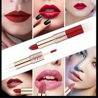 thumb-Matte Lipstick Pen & Liquid Suede Lipstick 2 in 1 - Color 0.6 Melancholia-3