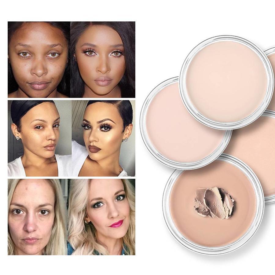 Full Coverage Concealer Jar - Color 1.0 Light Skin-4