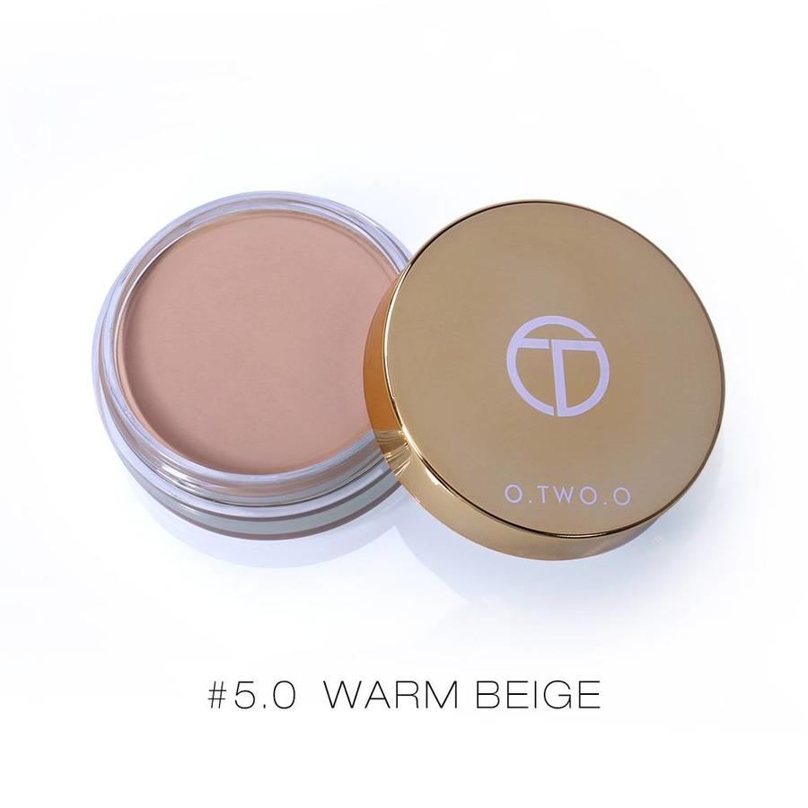 Full Coverage Concealer Jar - Color 5.0 Warm Beige-1