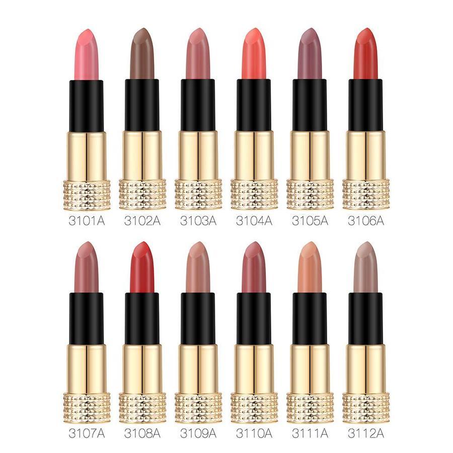 Luxery Classics Soft Matte Lipstick - Color 3101A Requiem-2