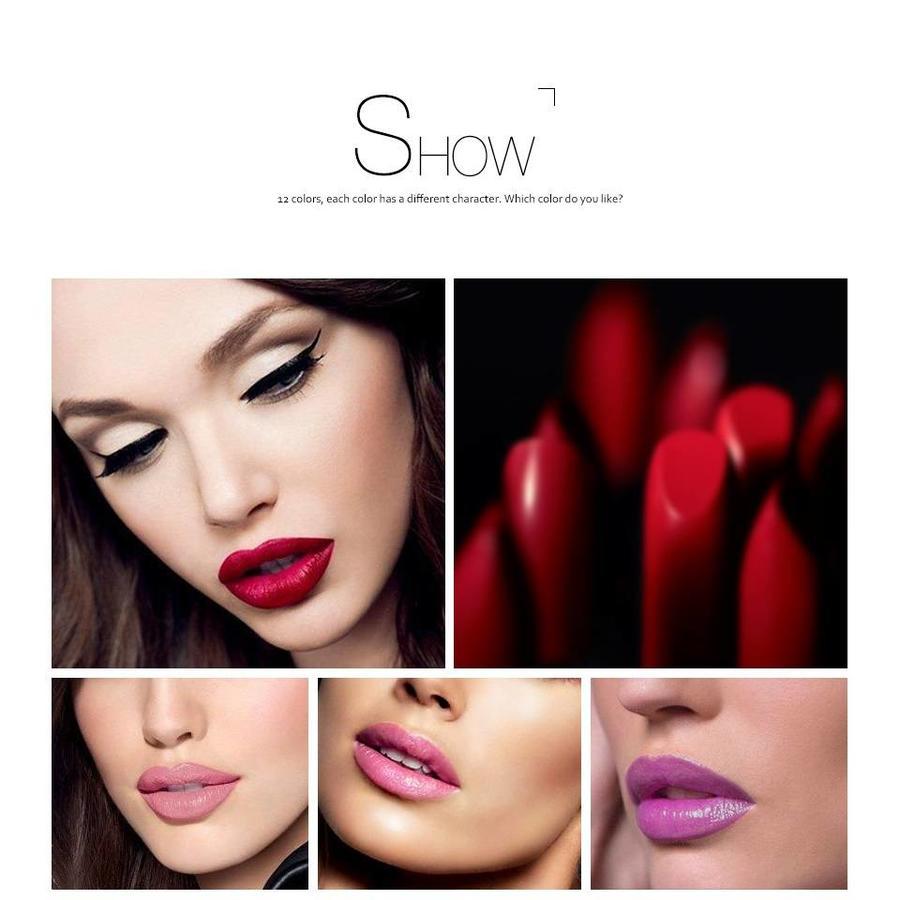 Luxery Classics Soft Matte Lipstick - Color 3101A Requiem-4