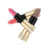 thumb-Luxery Classics Soft Matte Lipstick - Color 3101A Requiem-5