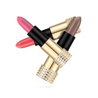 thumb-Luxery Classics Soft Matte Lipstick - Color 3103A Beloved-5