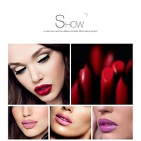 thumb-Luxery Classics Soft Matte Lipstick - Color 3107A Agatha-4