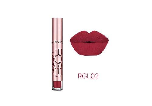 Super Waterproof Matte Liquid Lipstick - Color RGL0.2