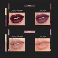 thumb-Matte Lipgloss Kit Met Lipliner - Color 3.0 Exorcism-7