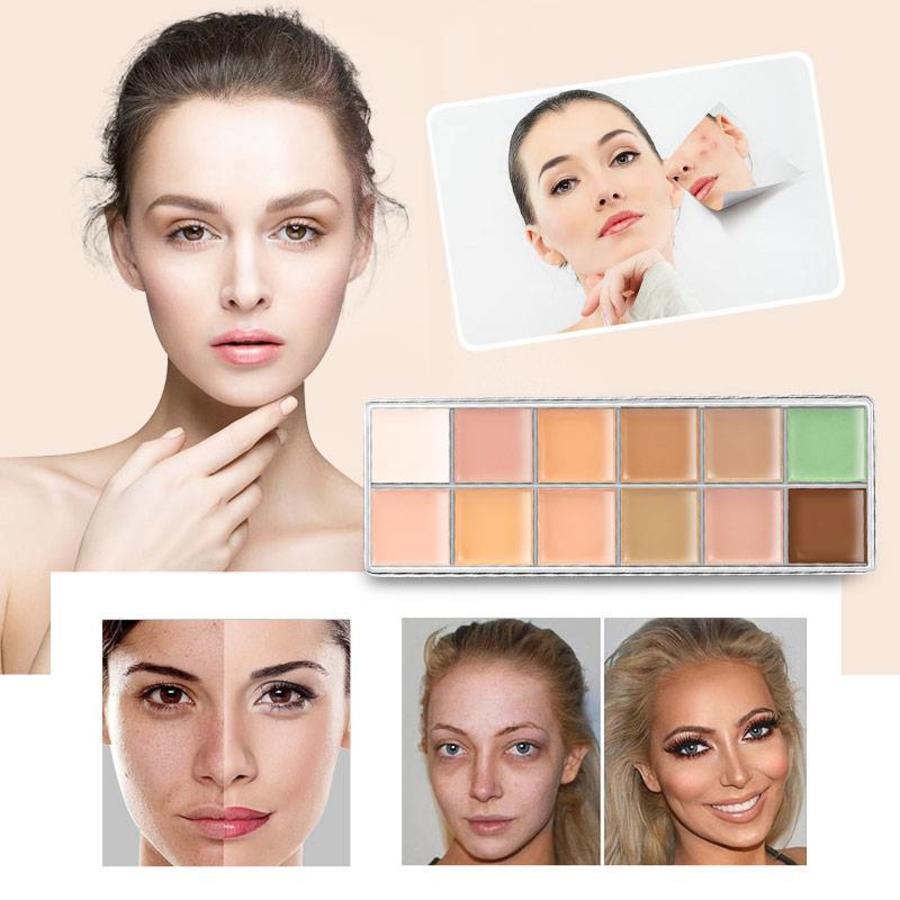 Consealer & Camouflage Palette - 12 kleuren-3