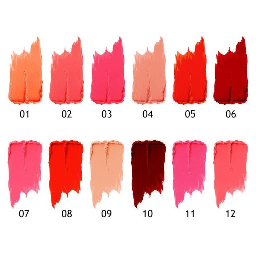 Matte Lipgloss & Lip Oil Set - Colorset #02-8