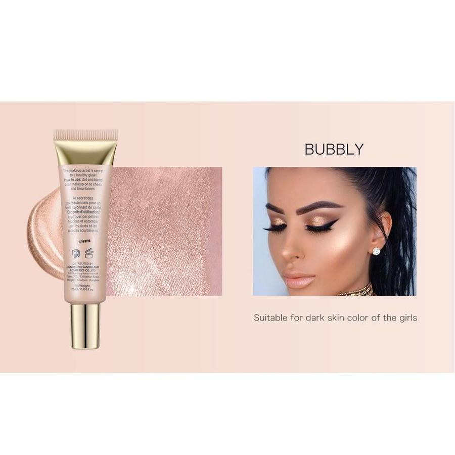 Glow Shimmer Liquid Highlighter - Color Sunburst-3