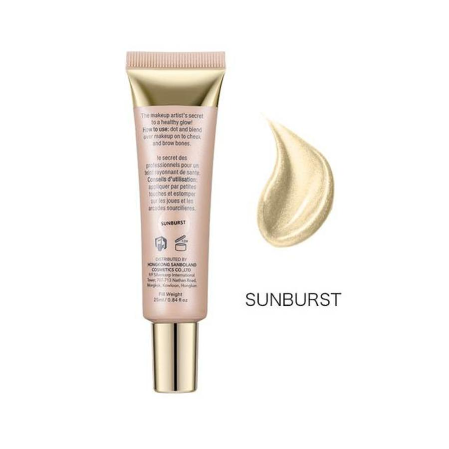 Glow Shimmer Liquid Highlighter - Color Sunburst-1