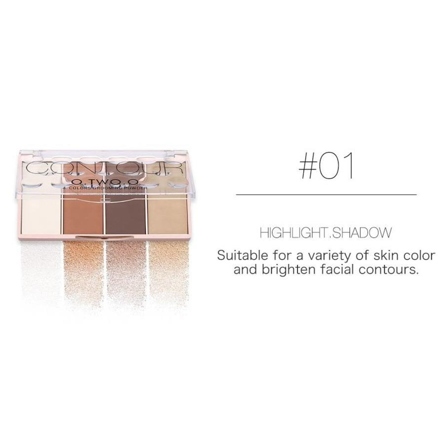 Grooming Powder Higlighter & Contouring - Color #01-1