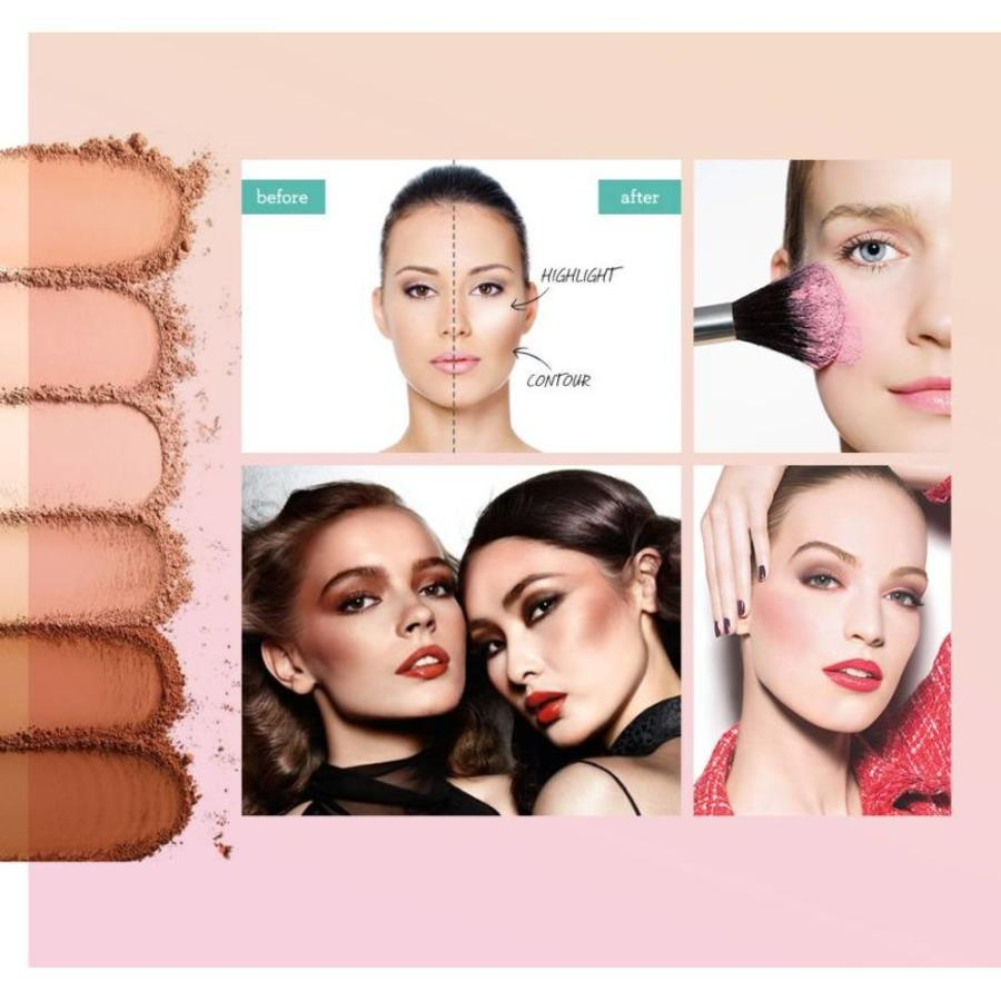 Grooming Powder Higlighter & Contouring - Color #01-8