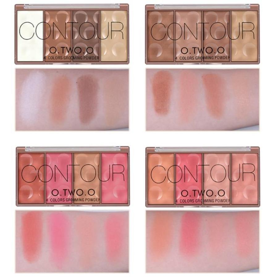 Grooming Powder Higlighter & Contouring - Color #02-3