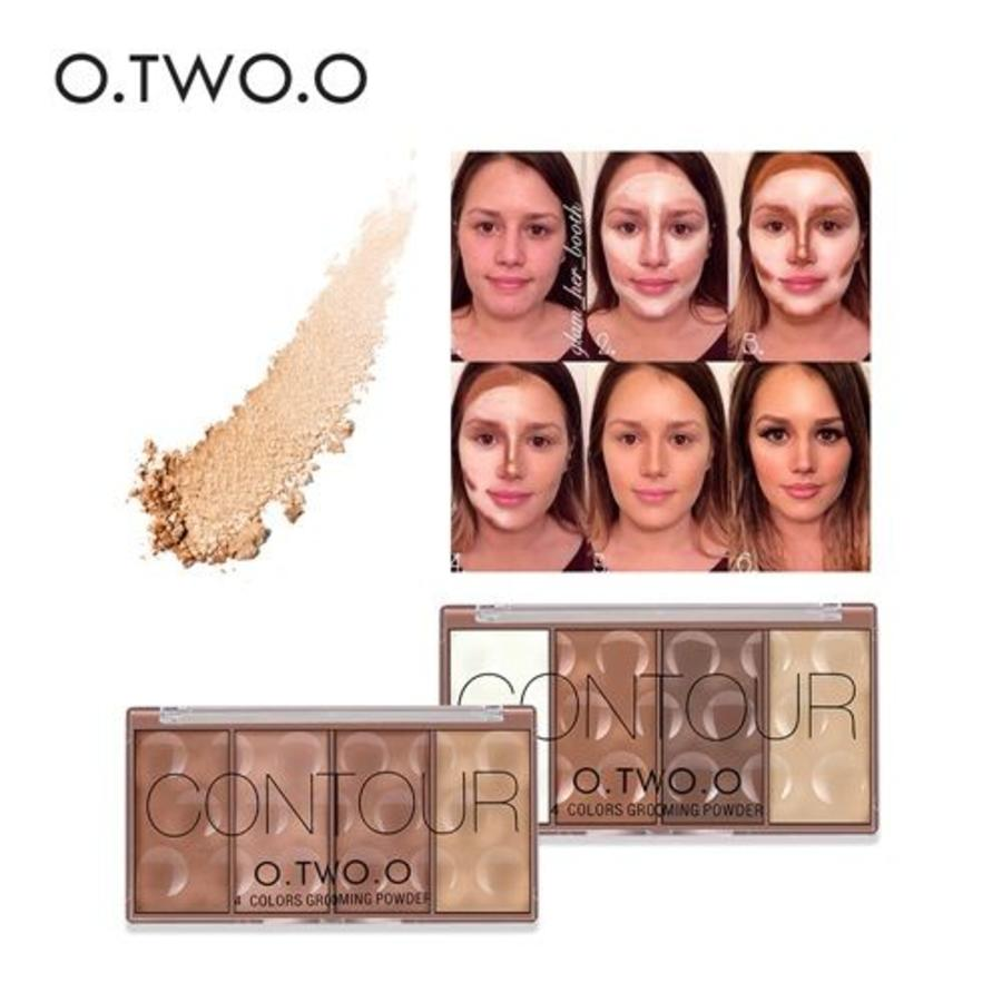 Grooming Powder Higlighter & Contouring - Color #02-7