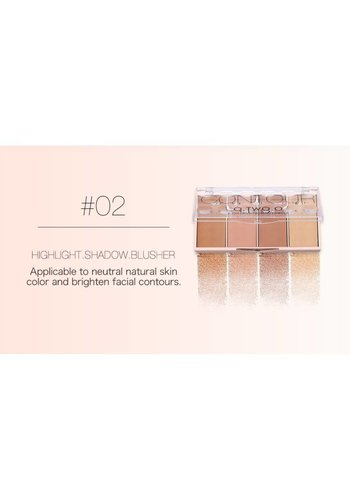 Grooming Powder Higlighter & Contouring - Color #02