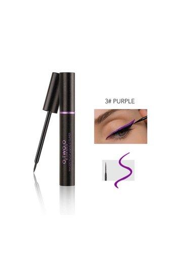 Waterproof Liquid Liner Colorful Eyeliner - Purple