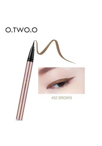 Super Waterproof Eyeliner Pen - Brown
