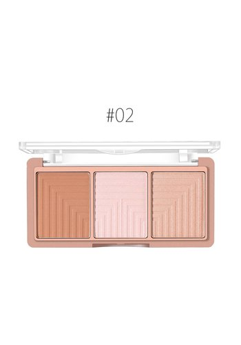 Contouring & Highlighter Pallette - Color 02
