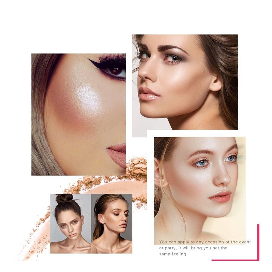 Contouring & Highlighter Pallette - Color 04-6